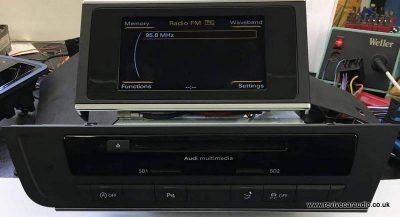 AUDI DELPHI RMC CNCT NAV 4G0035193F