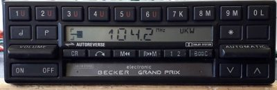 BECKER BE0837