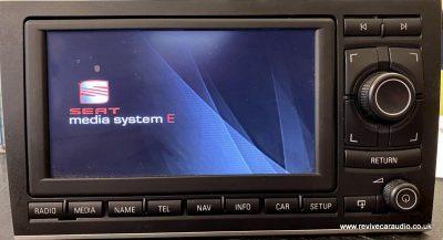SEAT MEDIA SYS E AISIN 3R0035192